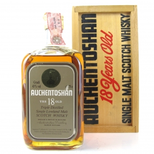 Auchentoshan 18 Year Old 1980s