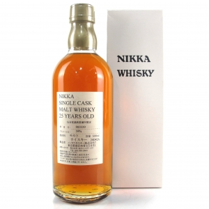 Miyagikyo Nikka 25 Year Old Single Cask #900339 50cl