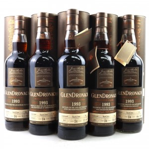 Glendronach Single Cask #652-#656 5 x 70cl
