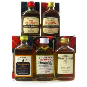 Gordon and MacPhail Miniature Selection x 5
