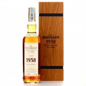 Macallan 1938 Fine and Rare 31 Year Old