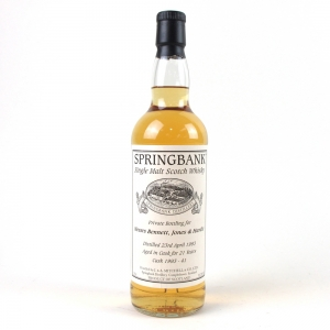 Springbank 1993 Private Cask 21 Year Old