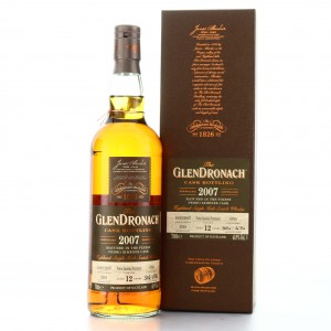 Glendronach 2007 Single PX Cask 12 Year Old #6769