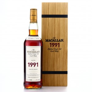 Macallan 1991 Fine and Rare 25 Year Old #7021