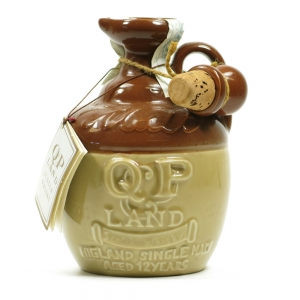 QP Land 12 Year Old Stoneware Decanter