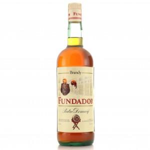 Fundador Pedro Domecq Brandy 1 Litre 1980s