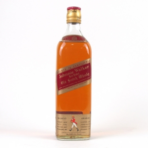 *REDO BACK PIC Johnnie Walker Red Label 1980s