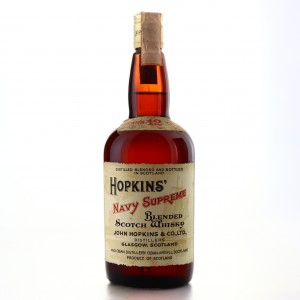 Hopkins' Navy Supreme 12 Year Old 1970s