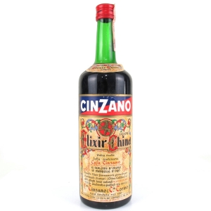 Cinzano Elixir China 1 Litre Circa 1980s