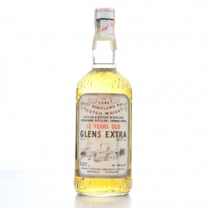 Springbank 'Glens Extra' 12 Year Old Pure West Highland Malt 1970s