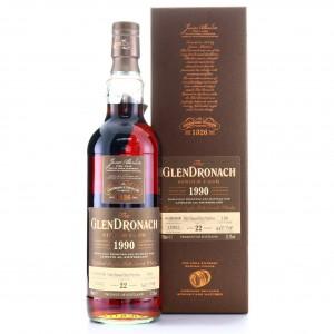 Glendronach 1990 22 Year Old Single Cask #1160