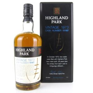 Highland Park 1973 Single Cask 28 Year Old #11167