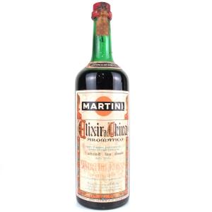Martini Elixir di China 1 Litre 1970s