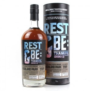 Highland Park 1989 Rest and Be Thankful 26 Year Old