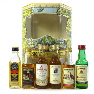 Whiskies of the World Miniature Selection 6 x 5cl