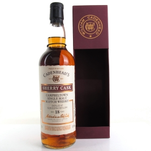 Glen Scotia 1999 Cadenhead's 18 Year Old