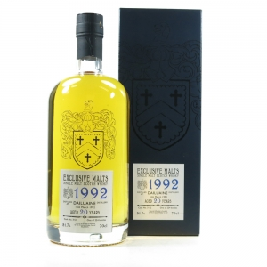 Dailuaine 1992 Exclusive Malts 20 Year Old front