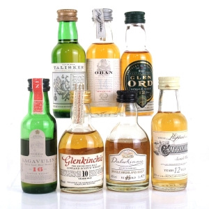 Miscellaneous Single Malt Miniature Selection 7 x 5cl