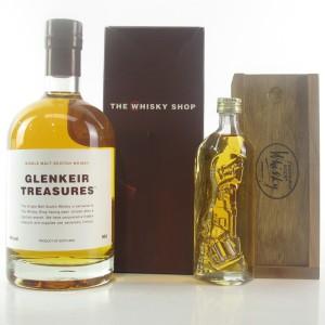 Aberlour 1995 Glenkeir Treasures 11 Year Old 50cl / with Edinburgh Rock Whisky 10cl