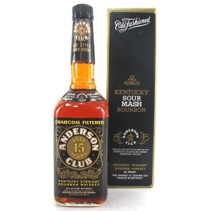 Anderson Club 15 Year Old Kentucky Bourbon