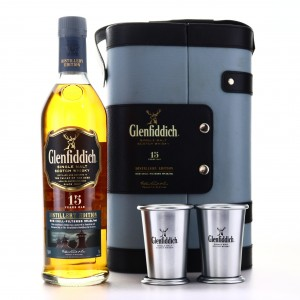 Glenfiddich 15 Year Old Distillery Edition set with Metal Tumblers