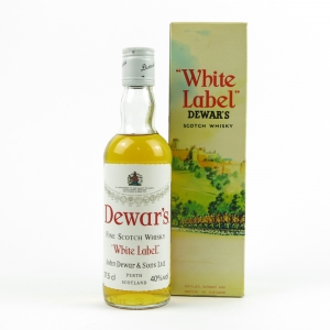 Dewar's White Label 1980s / 37.5cl