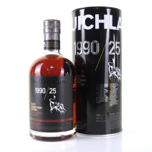 Bruichladdich 1990 Sherry Cask 25 Year Old