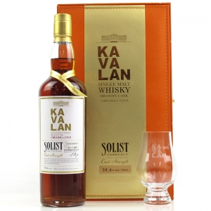 Kavalan Solist Brandy Cask / Including Glass
