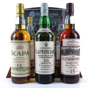 The Malt Heritage Collection 3 x 70cl / with Plinth