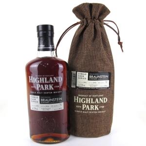 Highland Park 2003 Single Cask 12 Year Old #5878 / Braunstein & Friends