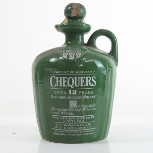 Chequers 12 Year Old Decanter 1970/80s
