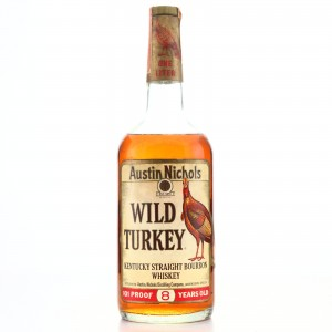 Wild Turkey 8 Year Old 101 Proof 1 Litre 1980s