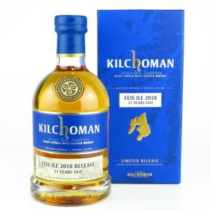 Kilchoman 2007 Bourbon Barrel 11 Year Old / Feis Ile 2018
