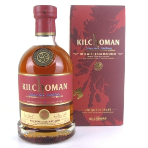 Kilchoman 2012 Red Wine Cask Matured
