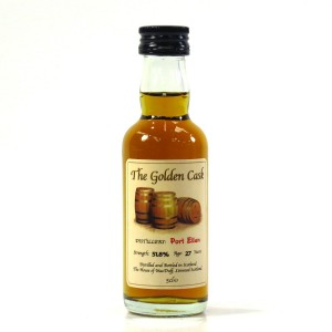 Port Ellen 27 Year Old The Golden Cask Miniature 5cl