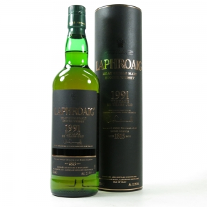 Laphroaig 1991 23 Year Old Front