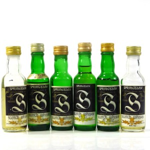 Springbank Miniature Selection x 6