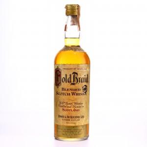 Gold Braid Scotch Whisky 1960s
