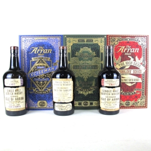Arran Smugglers' Series / The Complete Trilogy 3 x 70cl