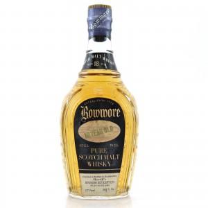 Bowmore 18 Year Old Sherriff's / Pear Shaped Bottle