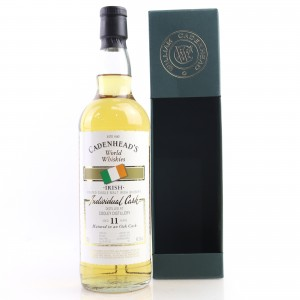Cooley 1992 Cadenhead's Peated 11 Year Old