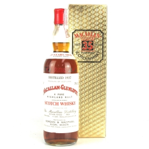 Macallan 1937 Gordon and MacPhail 35 Year Old / Pinerolo Import