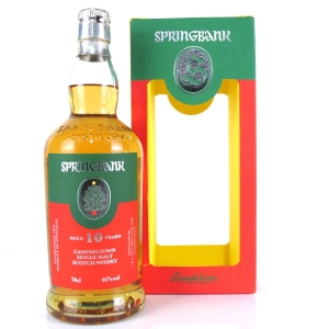 Springbank 10 Year Old / Christmas Edition