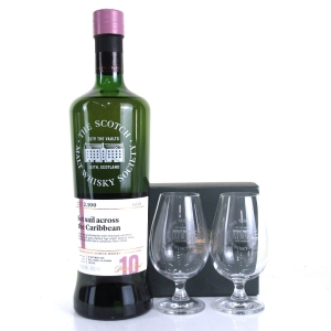 Glenlivet 2006 SMWS 10 Year Old 2.100 / Including 2 SMWS Tasting Glasses