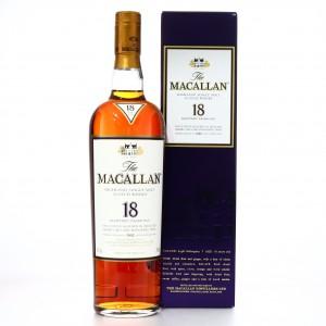 Macallan 1992 18 Year Old