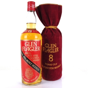 Glen Flagler 8 Year Old Single Malt 1970s
