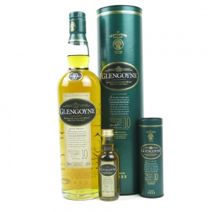 Glengoyne 10 Year Old / Including 5cl Miniature