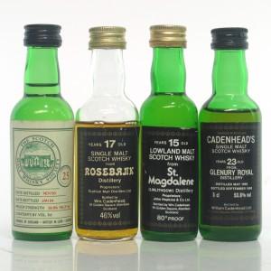 Closed Distillery Miniatures x 4