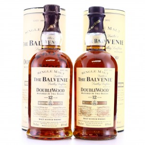 Balvenie 12 Year Old Double Wood 2 x 70cl
