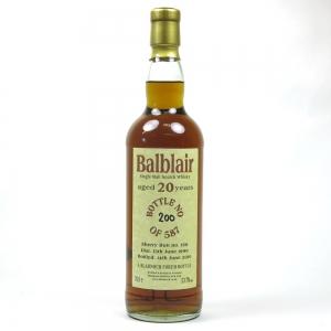 Balblair 1990 Bladnoch Forum 20 Year Old
